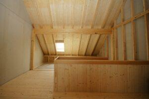 Umbau Bauernhaus Dachstock